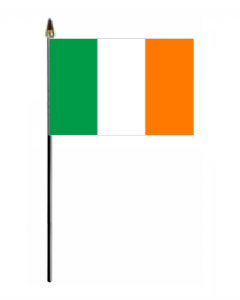 Ireland Country Hand Flag - Small.